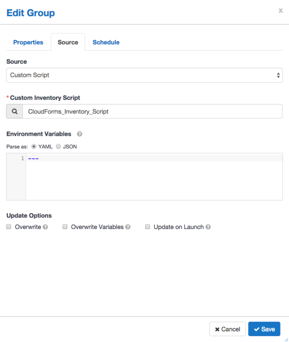 Ansible Tower Dynamic Inventory from CloudForms | all things