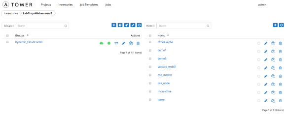 Ansible Tower Dynamic Inventory from CloudForms | all things open